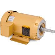 Baldor Pump Motor, EJMM3615T-G, 3 Phase, 5 HP, 208-230/460 Volts, 1800 RPM, 60 HZ, TEFC, 184JM