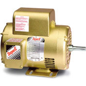 Baldor-Reliance Single Phase Motor, EL1409T, 5 HP, 230 Volts, 3450 RPM, OPEN, 184T Frame