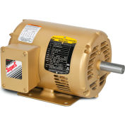 Baldor EM30004 .25HP 1200RPM 48 Frame 3PH 230/460V, ODP, Rigid, Premium Efficiency