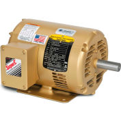 Baldor EM31115 1HP 3600RPM 56 Frame 3PH 230/460V, ODP, Rigid, Premium Efficiency