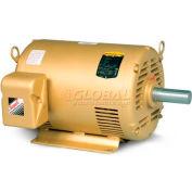 Baldor HVAC Motor, EM3115-G, 3 PH, 1 HP, 208-230/460 V, 3600 RPM, ODP, 56 Frame