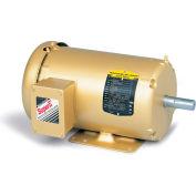 Baldor HVAC Motor, EM3615T-5G, 3 PH, 5 HP, 575 V, 1800 RPM, TEFC, 184T Frame