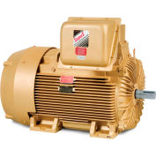 Baldor-Reliance General Purpose Motor, 460 V, 125 HP, 3570 RPM, 3 PH, 444TS, TEFC