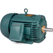 Baldor Explosion Proof Motor, EM7572T-I, 3PH, 5HP, 230/460V, 3505RPM, L184T