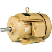Baldor Metric IEC Motor, EMM4103, 3PH, 208-230/460V, 1760RPM, 18.5/25 KW/HP, 60Hz, D180M