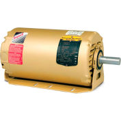 Baldor HVAC Motor, ERM3158TA, 3 PH, 3 HP, 208-230/460 V, 3450 RPM, OPEN, 56HZ Frame