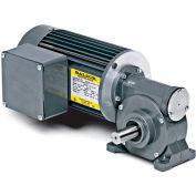 Baldor AC Gearmotor, GC25020, .1//.13HP, 30//37RPM, 1PH, TENV