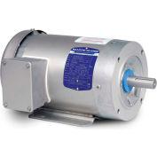 Baldor-Reliance Washdown Motor IDCSWDM3611T, 3 Phase, 3 HP, 1760 RPM, 230/460 Volts, TENV, 182TC FR