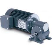 Baldor AC Gear Motor, IDGM2508, 3/8 HP, 3 PH, 28 RPM, 230 V, TEFC, 252 Torque In-Lbs