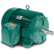 Baldor Motor IDVSNM3538, .5HP, 1750RPM, 3PH, 60HZ, 56C, 3516M, TENV, F1