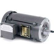 Baldor Motor JL5030, 1.5HP, 3450RPM, 1PH, 60HZ, 56J, 3528L, XPFC, F1