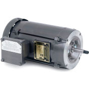 Baldor Motor JM7018, 1.5HP, 3450RPM, 3PH, 60HZ, 56J, 3516M, XPFC, F1