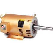 Baldor Motor JPM3212T, 5HP, 3450RPM, 3PH, 60HZ, 182JP, 3535M, OPSB, F1