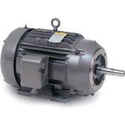 Baldor Motor JPM3555T, 2HP, 3450RPM, 3PH, 60HZ, 145JP, 3524M, TEFC, F1