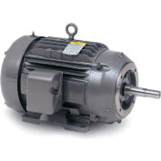 Baldor Motor JPM3713T, 15HP, 3450RPM, 3PH, 60HZ, 215JP, 3744M, TEFC, F