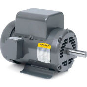 Baldor Motor L1209M, .5HP, 1725RPM, 1PH, 60HZ, 48, 3418L, OPEN, F1, N
