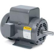 Baldor Motor L1318M, 1HP, 1725RPM, 1PH, 60HZ, 56/56H, 3528L, OPEN, F
