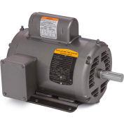 Baldor-Reliance Motor L1318T, 1HP, 1725RPM, 1PH, 60HZ, 143T, 3528L, OPEN, F1