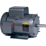 Baldor Motor L3605M, 2HP, 1725RPM, 1PH, 60HZ, 184, 3628L, TEFC, F1, N