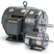 Baldor Motor M3208,  2HP, 3450RPM, 3PH, 60HZ, 184, 3520M, OPEN, F1, N