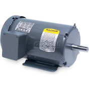 Baldor 50 Hertz Motor, M3218T-57, 3 PH, 5 HP, 1455 RPM, 230/400 Volts, OPEN, 184T Frame