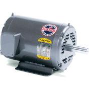 Baldor Motor M3326,  5HP, 1725RPM, 3PH, 60HZ, 254NA, 3720M, OPEN, F1