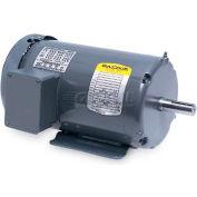 Baldor 50 Hertz Motor, M3545-57, 3 PH, 1 HP, 2850 RPM, 230/400 Volts, TEFC, 56 Frame
