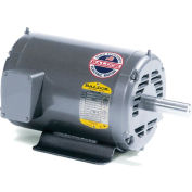 Baldor Motor M3564, .5HP, 1740RPM, 3PH, 60HZ, 66NA, 3511M, TEFC, F1