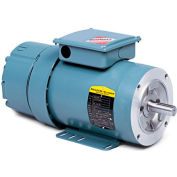 Baldor-Reliance Motor VBL3597-D, .75HP, 1725RPM, 1PH, 60HZ, 56C, 3520L, TEFC, F3