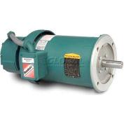 Baldor Unit Handling Motor, VBM3615T-D, 3 PH, 5 HP, 208-230/460 V, 1745 RPM, TEFC, 184TC Frame