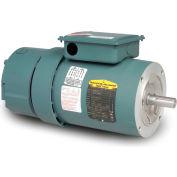 Baldor-Reliance Unit Handling Motor, VEBM3546-D, 3 PH, 1 HP, 208-230/460 V, 1760 RPM, TEFC,56C Frame