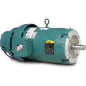 Baldor Unit Handling Motor, VEBM3710T-D, 3 PH, 7.5 HP, 208-230/460 V, 1770 RPM, TEFC, 213TC Frame
