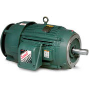 Baldor-Reliance Severe Duty Motor, VECP3580-4, 3 PH, 1 HP, 460 V, 3450 RPM, TEFC, 56C Frame
