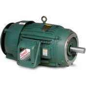Baldor Severe Duty Motor, VECP3581T-4, 3 PH, 1 HP, 460 V, 1765 RPM, TEFC, 143TC Frame