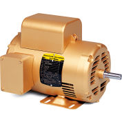 Baldor VEL11309 1HP 56C Frame 3600RPM 115/230V ODP, C-Face Footless, Premium Efficiency