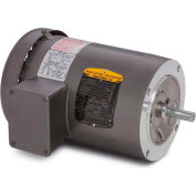 Baldor-Reliance Motor VEM3546, 1HP, 1765RPM, 3PH, 60HZ, 56C, 3524M, TEFC, F1, N