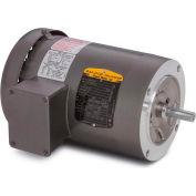 Baldor Motor VEM3546, 1HP, 1765RPM, 3PH, 60HZ, 56C, 3524M, TEFC, F1, N