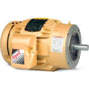 Baldor General Purpose Motor, 208-230/460 V, 3 HP, 1755 RPM, 3 PH, 182TC, TEFC