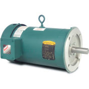 Baldor Motor VEUHM3611T, 3HP, 1760RPM, 3PH, 60HZ, 182TC, 3628M, TEFC, F1