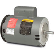 Baldor-Reliance Motor VL1313A, 1.5HP, 3450RPM, 1PH, 60HZ, 56C, 3432LC, OPEN, F