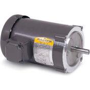 Baldor 50 Hertz Motor, VM3546-57, 3 PH, 1 HP, 1440 RPM, 230/400 Volts, TEFC, 56C Frame