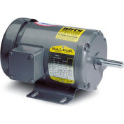 Baldor Motor VM8550, 1.5HP, 3450RPM, 3PH, 60HZ, 56C, 3520M, TEFC, F1
