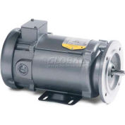 Baldor DC Metric Motor, VP3439-14, 0.75 HP, 3000 RPM, TEFC, D80C Frame