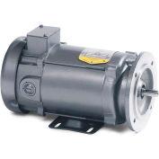 Baldor-Reliance DC Metric Motor, VP3439D, 0.75 HP, 3000 RPM, TEFC, D80D Frame