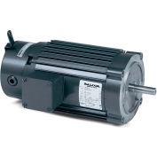 Baldor-Reliance Unit Handling Motor, VRBM3538, 3 PH, 0.5 HP, 208-230/460 V, 1725 RPM, TENV,56C Frame