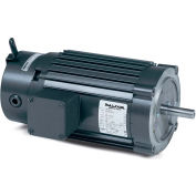 Baldor-Reliance Unit Handling Motor, VRBM3542, 3 PH, 0.75 HP, 208-230/460 V, 1725 RPM,TENV,56C Frame