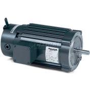 Baldor Unit Handling Motor, VRBM3546, 3 PH, 1 HP, 230/460 V, 1725 RPM, TENV, 56C Frame