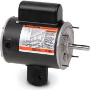 Baldor Light Industrial/Commercial Motor, YPC245A, 1 PH, 0.33 HP, 115 V, 1625 RPM, TEAO, 56YZ Frame