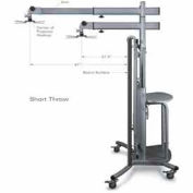 iTeach Cart with Short Throw Arm