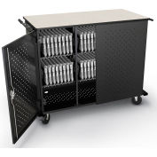 Balt® Odyssey High Capacity Charging Cart, 48 Laptops/Tablets w/UL Power Strips - Unassembled